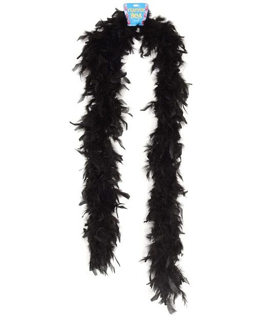 "Halloween//Costume//Burlesque BLACK IRRIDESCENT 72/"" Boa SCHLAPPENS Feather BOA"