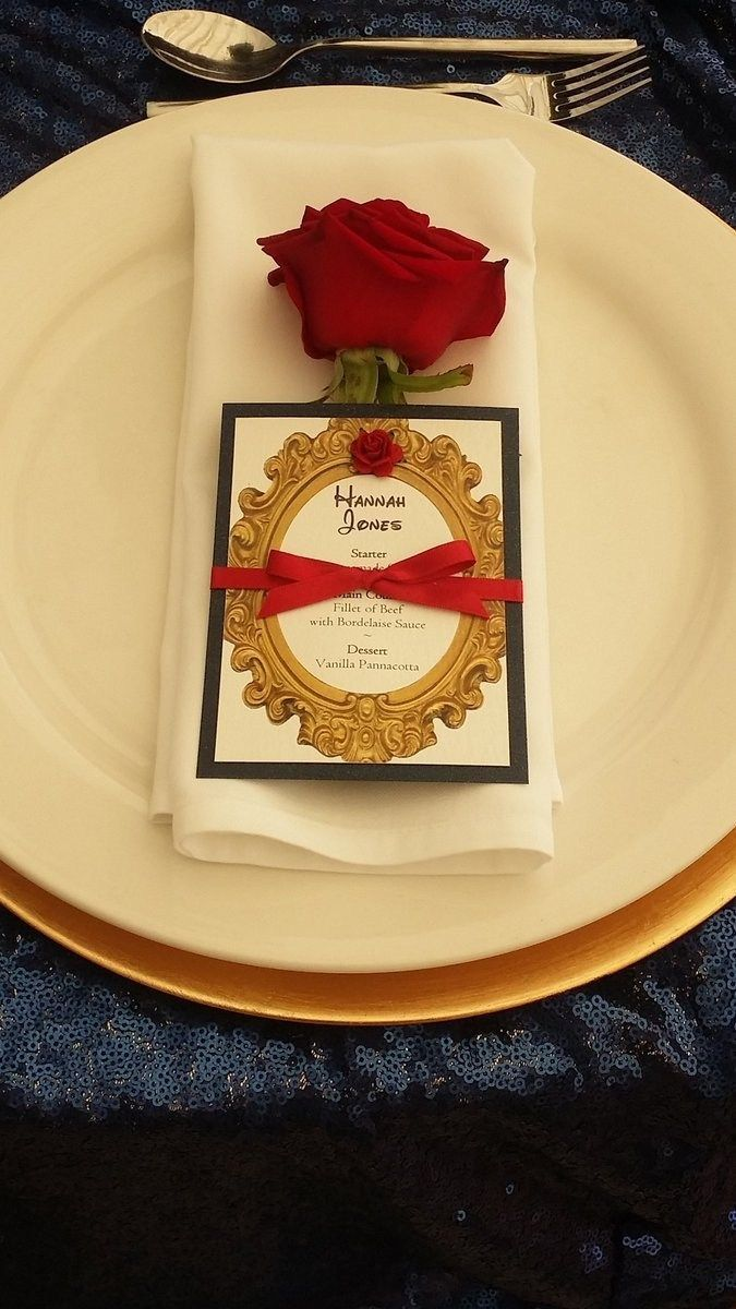 27+ Exclusive Picture of Beauty And The Beast Wedding Invitations