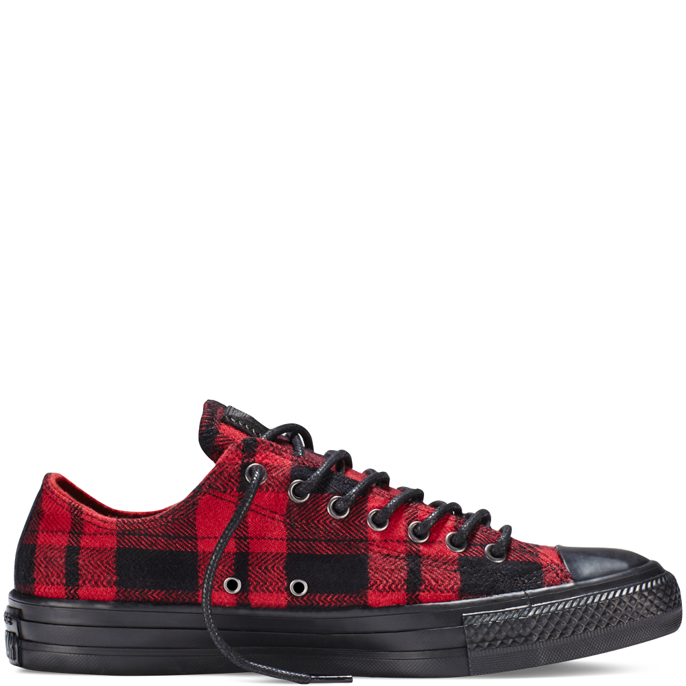 Chuck Taylor All Star Plaid Flannel Red flannel red  16b3d175c