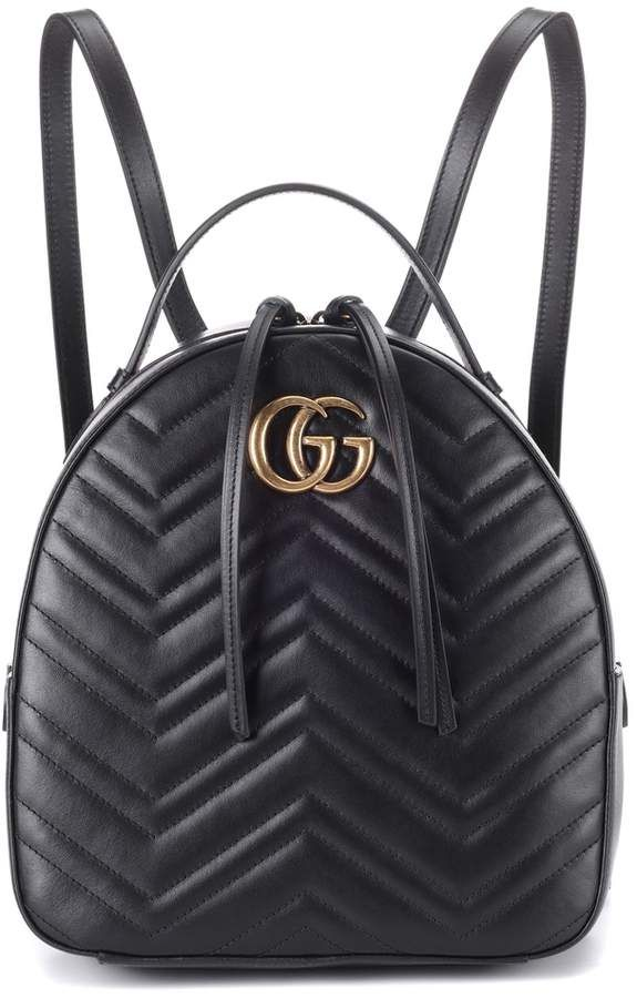 190cd5a06d45 Gucci GG Marmont matelasse leather backpack | Products | Gucci ...