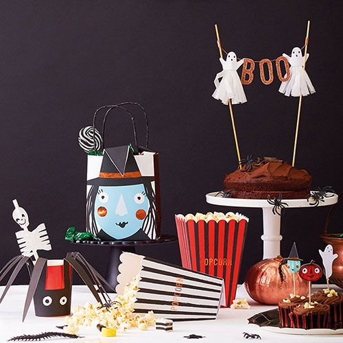 Halloween Witch Party Bags A Celebrated Life Pinterest More - how to decorate for halloween party