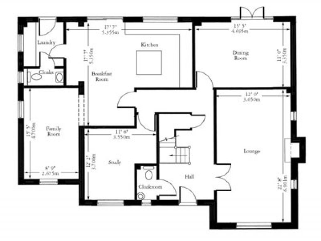 House Floor Plans With Dimensions House Floor Plans With Indoor Pool House Layout Plans Floor Plan With Dimensions House Floor Plans