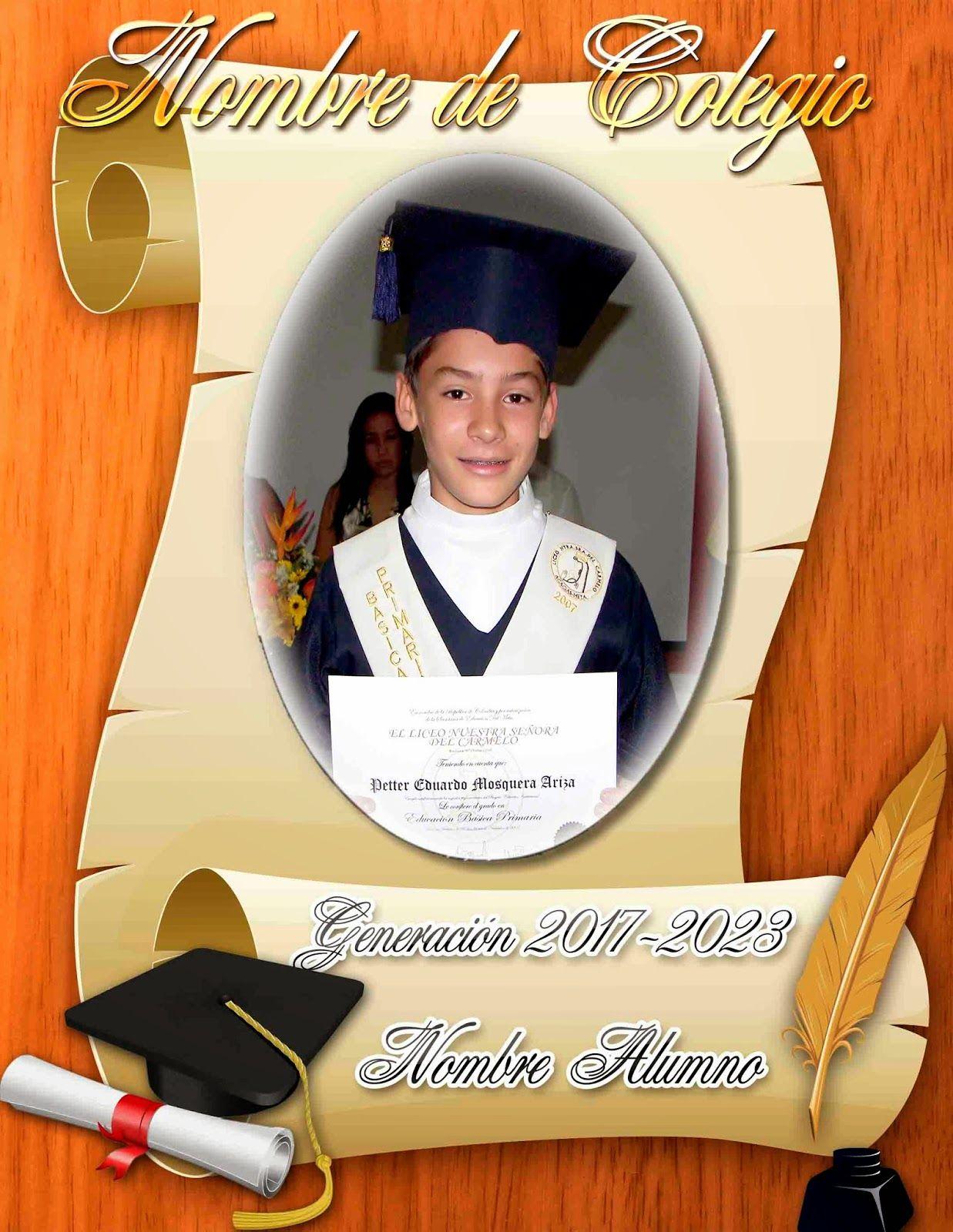 Marco para fotos de graduación - Marcos en psd y png para descargar ...