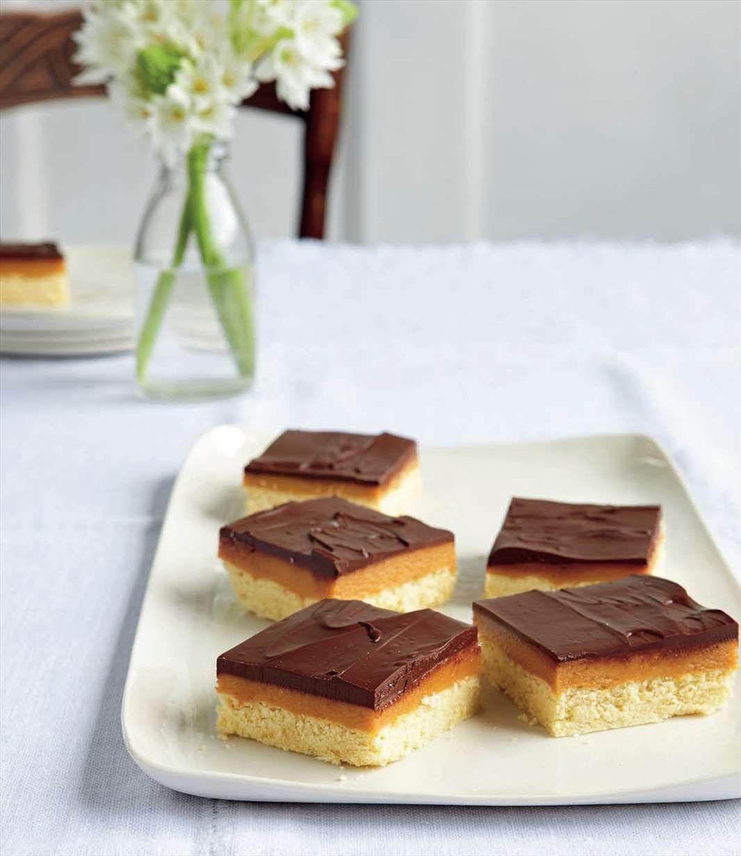 Chocolate Caramel Slice Recipe From Baking By Margaret Fulton Cooked Baking Slices Recipes Chocolate Caramel Slice