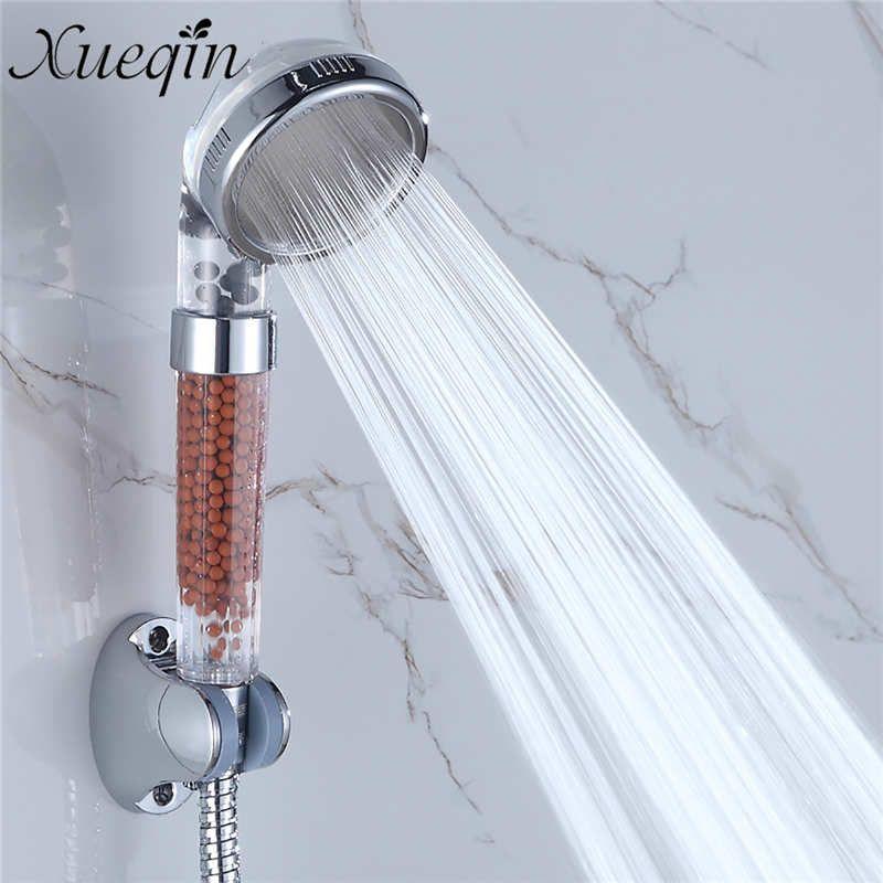 Xueqin Bathroom Water Shower Anion Spa Shower Head Water Saving