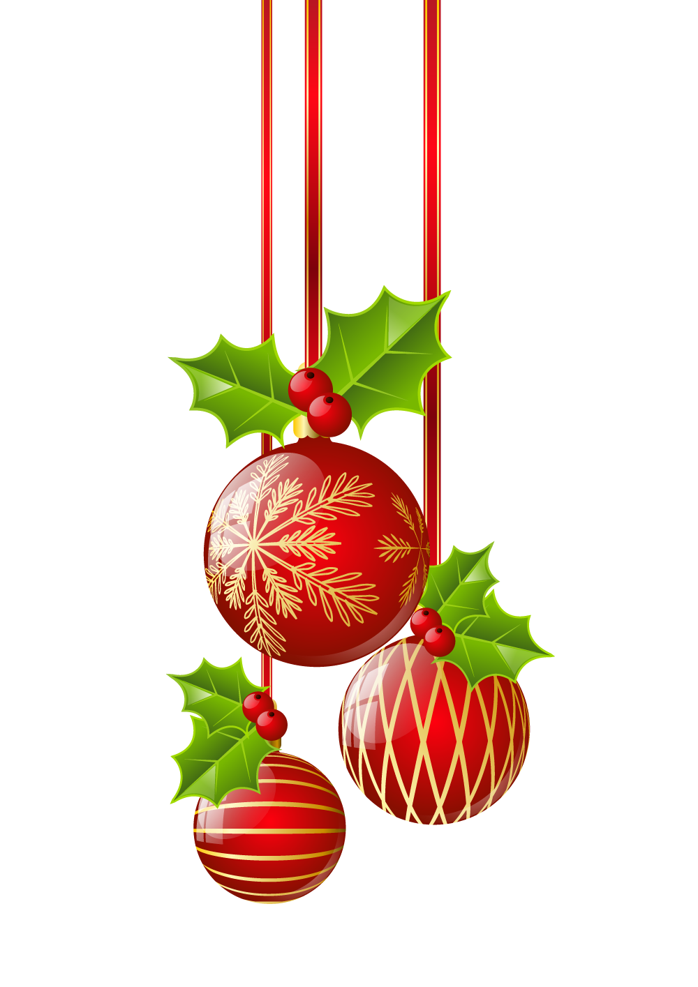 Transparent Christmas Red Ornaments Png Clipart Christmas Ornaments Christmas Crafts Decorations Christmas Art