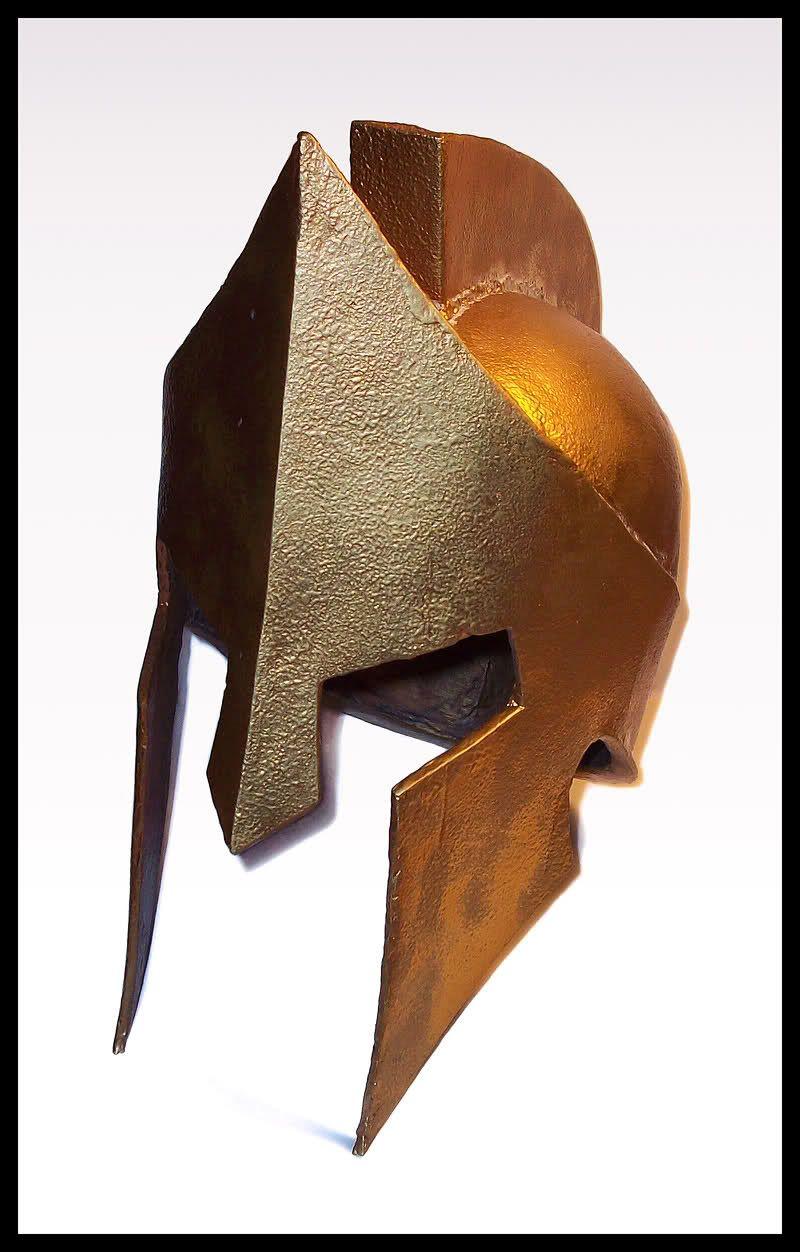 Paper mache spartan helmet i must aquire this ingenious artifact paper mache spartan helmet i must aquire this ingenious artifact pronofoot35fo Choice Image
