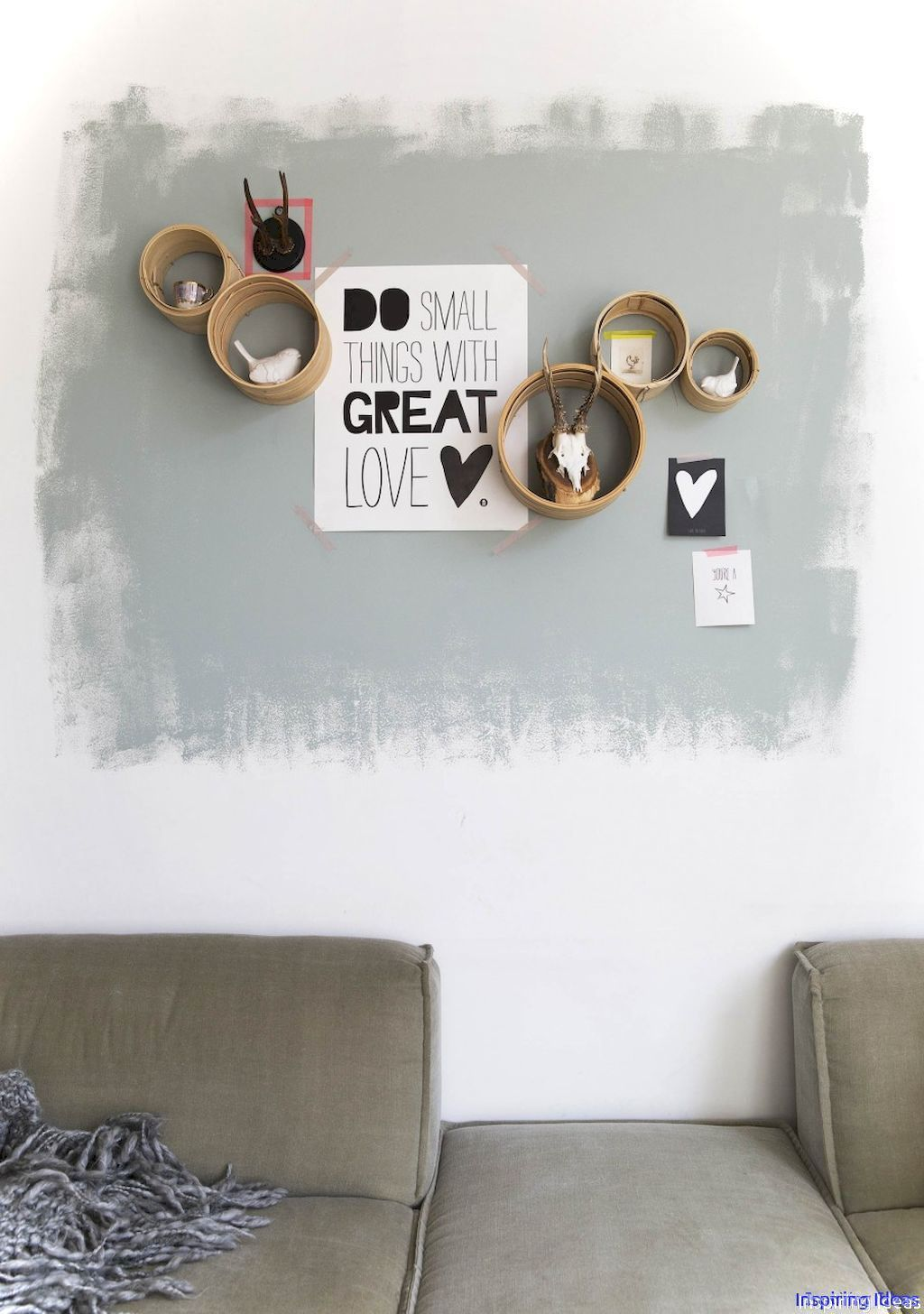 Artsy wall painting ideas for your home 18 | Wall paintings, Artsy ...
