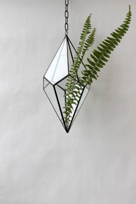 Geometric Terrarium Container Geometric Terrarium Hanging