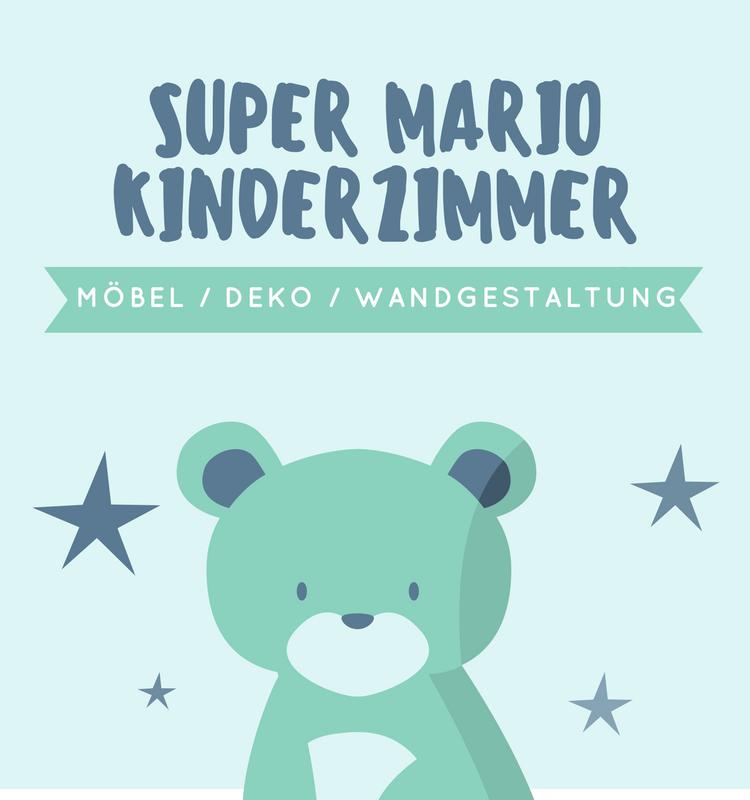 Ideen für ein Super Mario Kinderzimmer - Super Mario Wandgestaltung ...