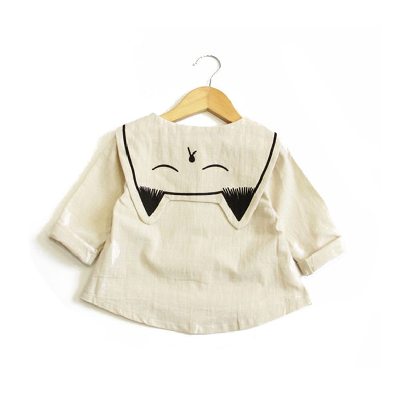 56138117d Spring Baby Boys Shirts Cute White Girl Blouse Infant Toddler Boy ...