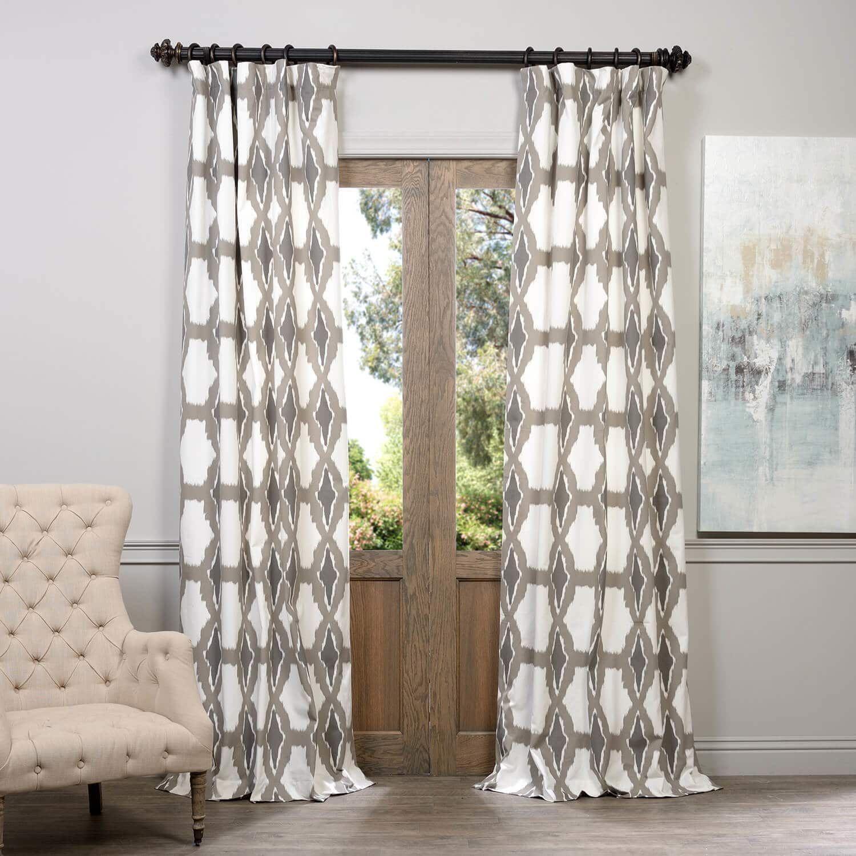 Sorong Printed Cotton Curtain Printed Curtains Cotton Curtains