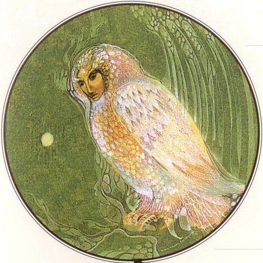 Owl spirit totem....Susan Seddon Boulet
