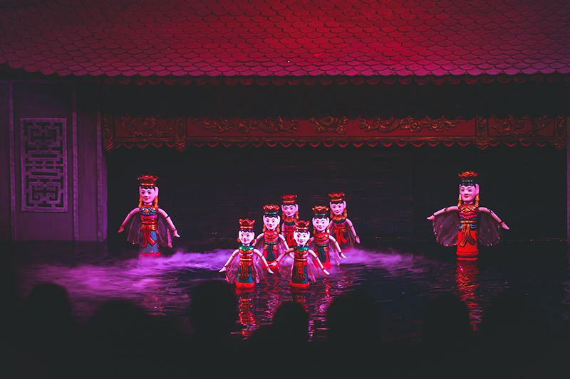 Travel with kids: Traditional Vietnamese water puppet