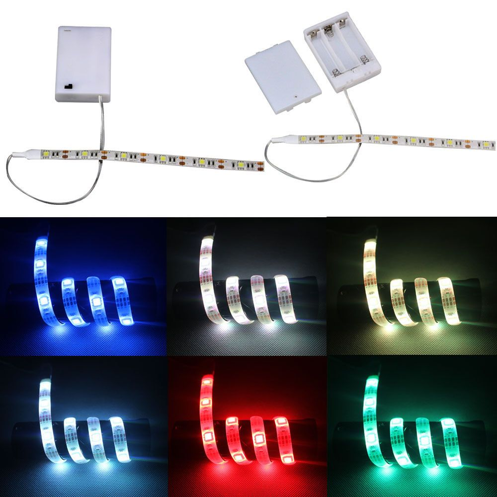 45v battery operated 50 500cm led strip light waterproof hobby 45v battery operated 50 500cm led strip light waterproof hobby light 6 colors aloadofball Image collections