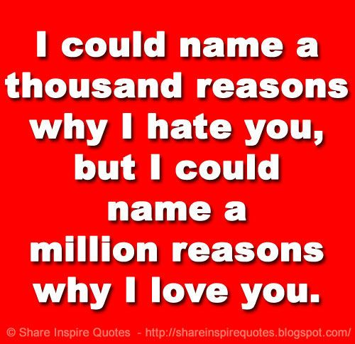 ... you, but I could name a million reasons why I love you. on imgfave - Free relationship advice online from http://savingarelationship.net/pin/