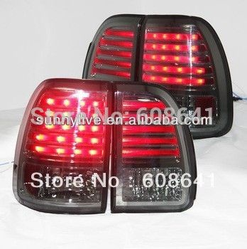 For Lexus Lx470 Led Tail Light Rear Lamp 1998 2002 All Smoke Black Sn Type Led Tail Lights Lexus Lx470 Car Lights