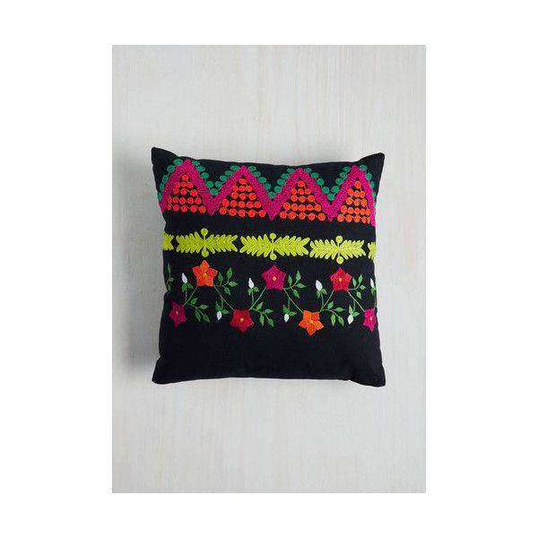 Karma Living Boho Sweet And Scenic Pillow (u20ac22) ❤ Liked On Polyvore  Featuring