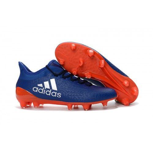 Adidas X 161 FG AG Mens Soccer Cleat Blue Orange  Mens soccer cleats        Soccer cleats and Cleats