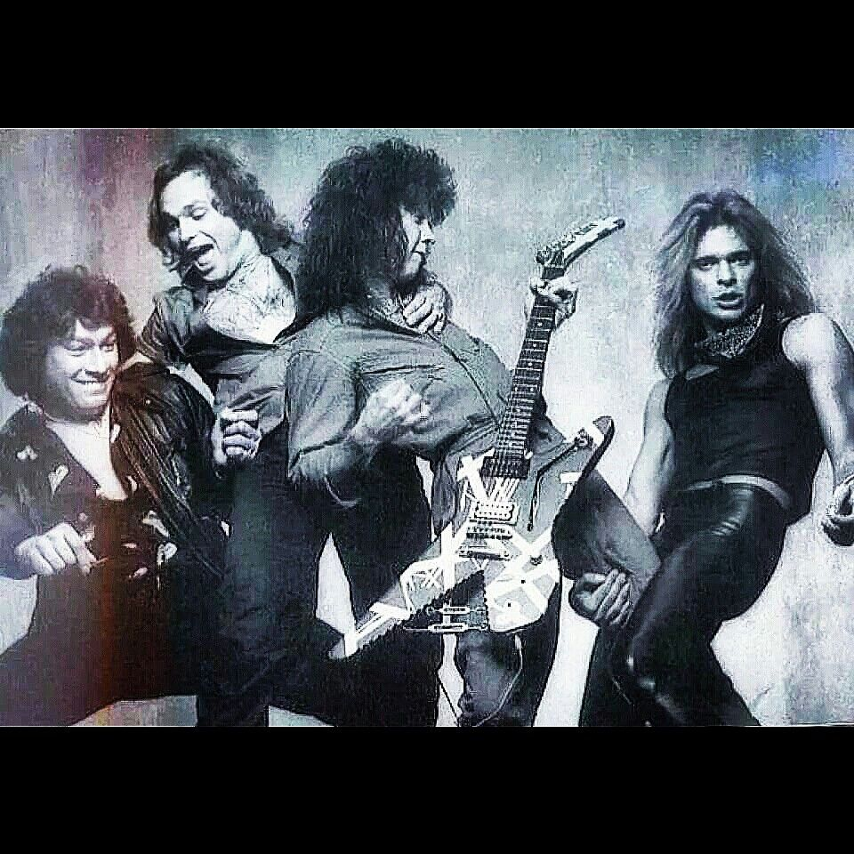 Outtake From Van Halens Women And Children First Photoshoot Evh Eddievanhalen Alexvanhalen Diamonddave Davidleeroth Eddie Van Halen Van Halen Album Art
