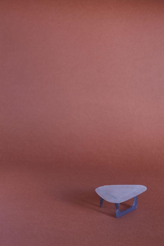 Coffee Table, design by Isamu Noguchi 1944 for Vitra, Sergio Magnano 3D print, mail sermag3d@gmail.com