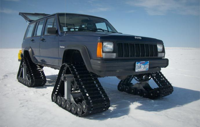 Dominator Car Tracks System Tracking System Bug Out Vehicle Jeep Xj