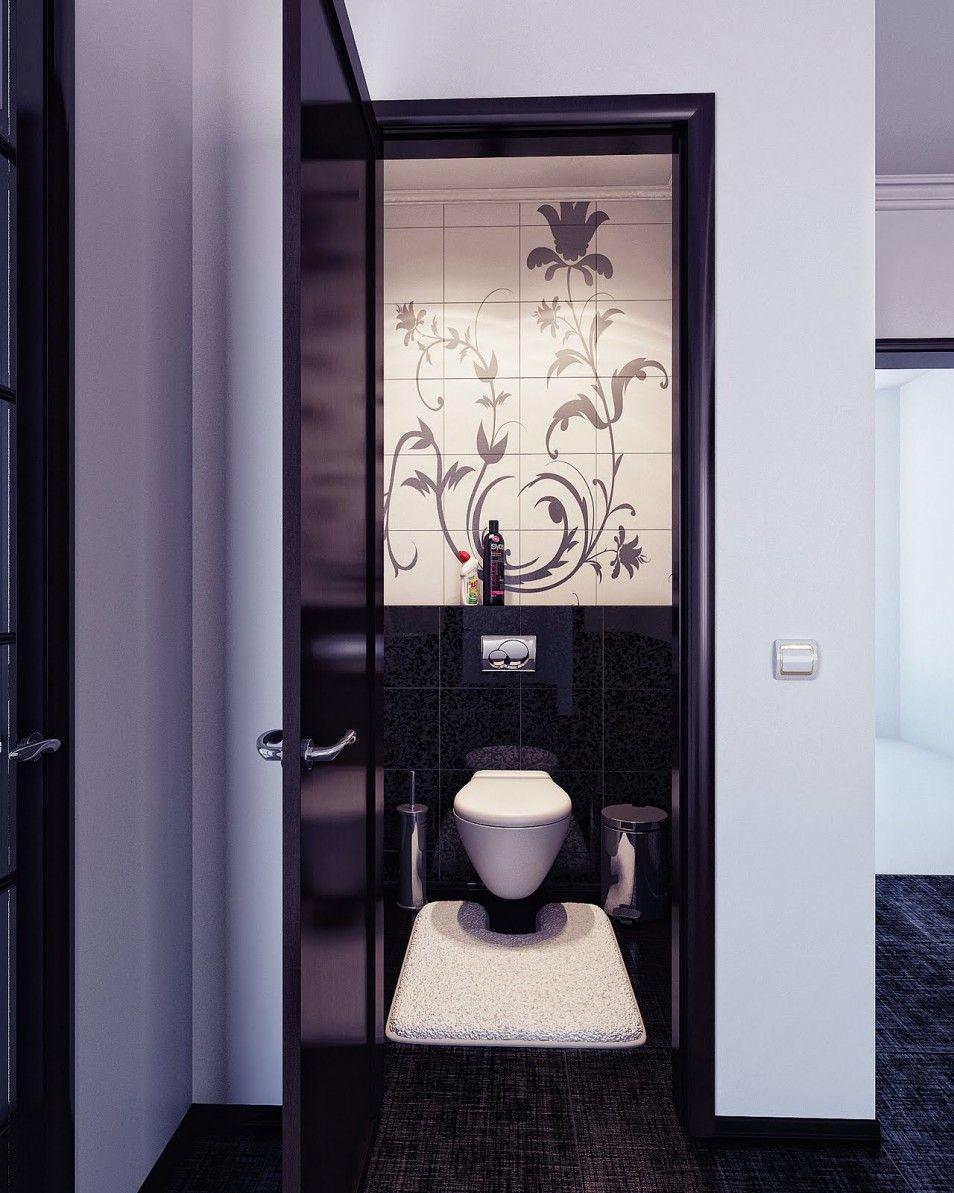 The Beauty Black And White Bathroom Decor