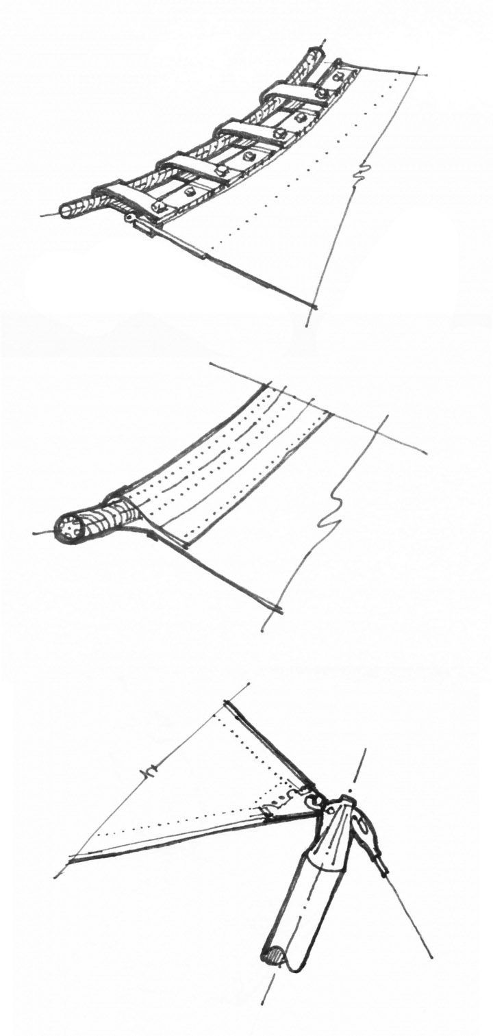tension structure connection details fabric architecture cad drawing architecture details architecture student  [ 720 x 1513 Pixel ]