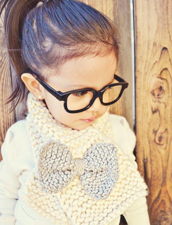 Kid with fashion, nice!