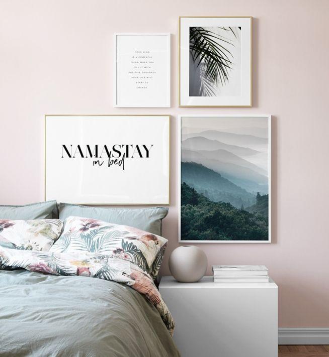 Billedvaeg I Sovevaerelse Indretning Og Plakater Til Sovevaerelset Galleri Vaeg Hjem Sovevaerelse