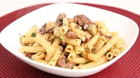 Laura in the Kitchen is an interactive cooking show starring Laura Vitale! In this episode, Laura will show you how to make Pasta with Sausage and Artichoke Hearts. New recipes are posted all the time, so be sure to subscribe to her YouTube channel and check out all of her other recipes!