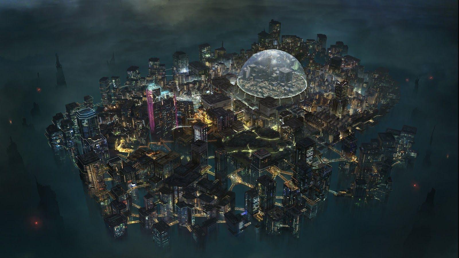 Sociolatte: Echo Tokyo Game map by Klaus Pillon