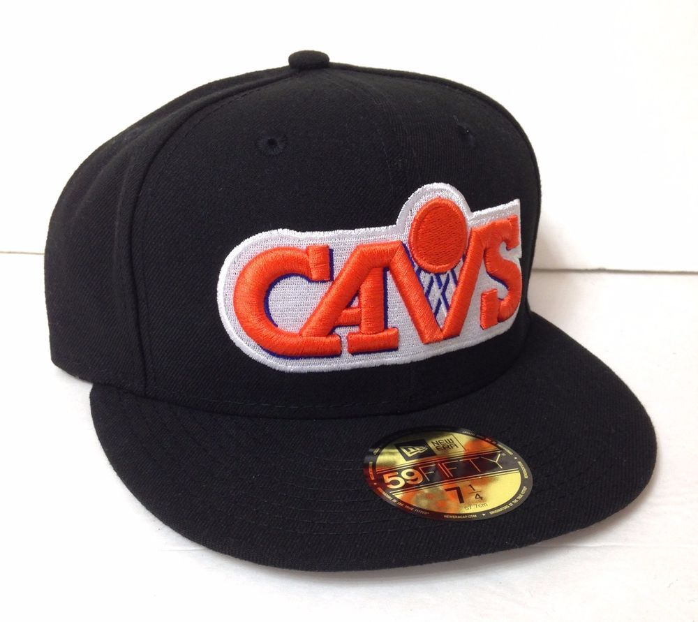 d1e8a25a0c2  35 CLEVELAND CAVALIERS FITTED HAT Mens 7-1 4