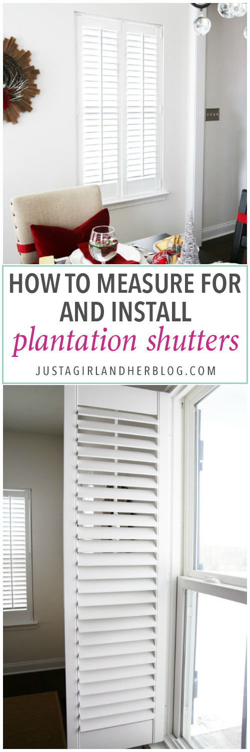 How to Measure for and Install Plantation Shutters Diy