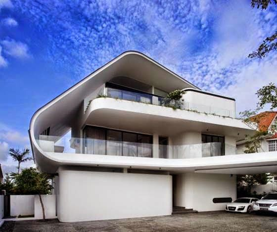 Urban architecture now 50 stunning houses in singapore