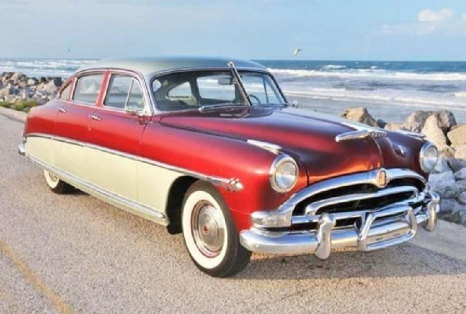 1953 Hudson Hornet Old Race Cars St Augustine Ancient Cities