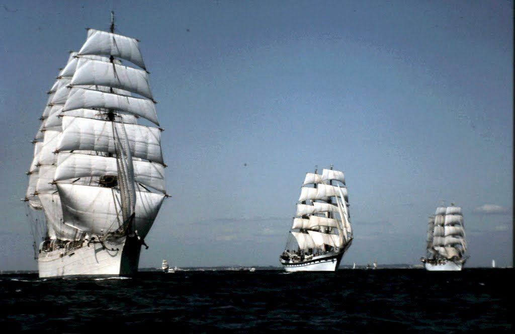 STS Sedov - The most beautiful tall ship of the world
