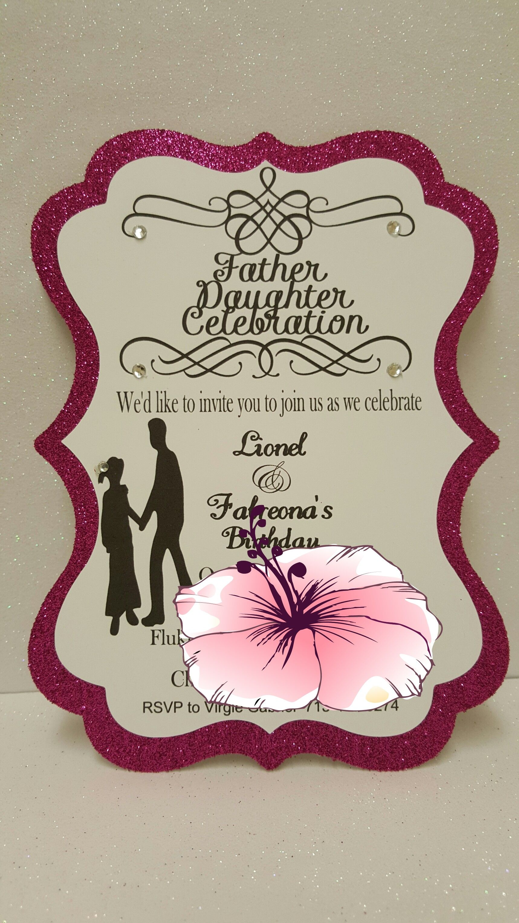 12 Father Daughter Invitations Daddy daughter dates