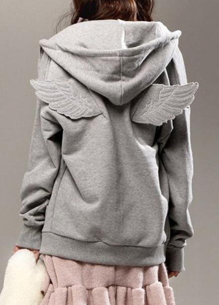 Angel Hoodie Moda y want Wings Pinterest Ropa Vestidos 3 rqRrw5C