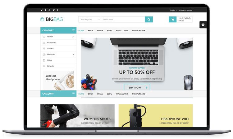 62 Best Free Html5 Website Templates 2020 Ecommerce Themes Website Template Templates