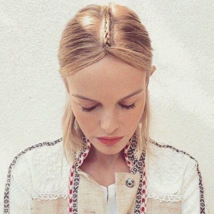 Boho bridal hair a tester pour un mariage hippie bohème