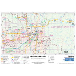 Map Of Canada Showing Alberta.This Northern Alberta Map Is A Custom Map Showing Alberta Roads