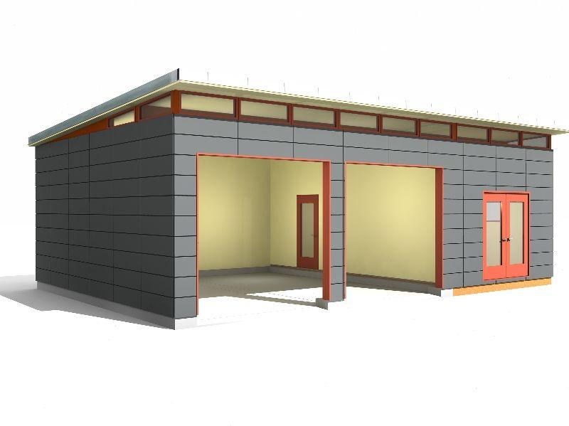 outbuildings Garage Shop Modern Shed Design Westcoast