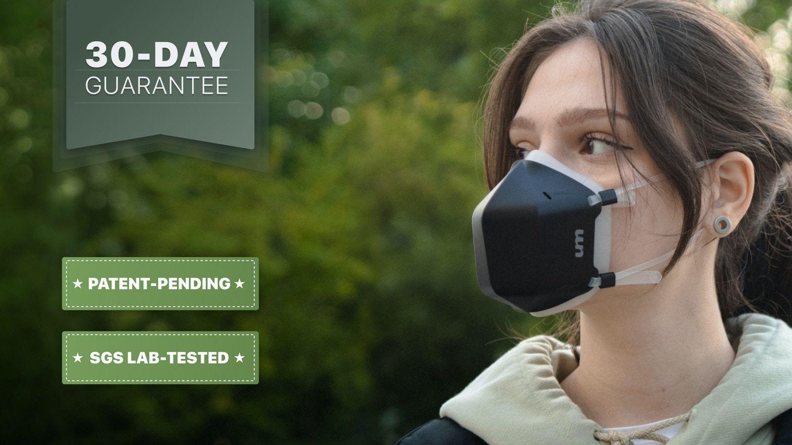 UVMask RealTime UVC Filtration & Purification Face Mask