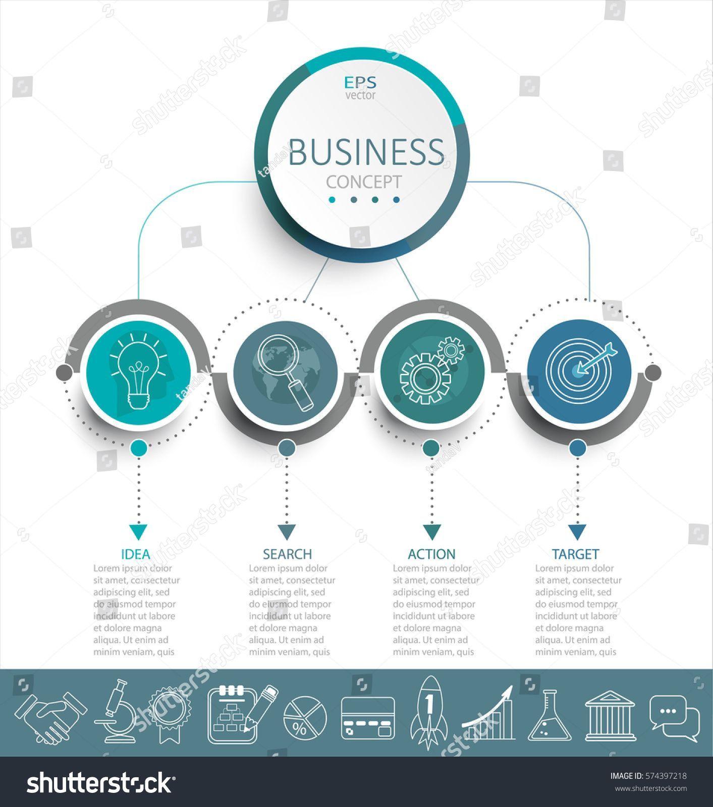 arrow infographic/flowchart #infographicsicons | infographics icons
