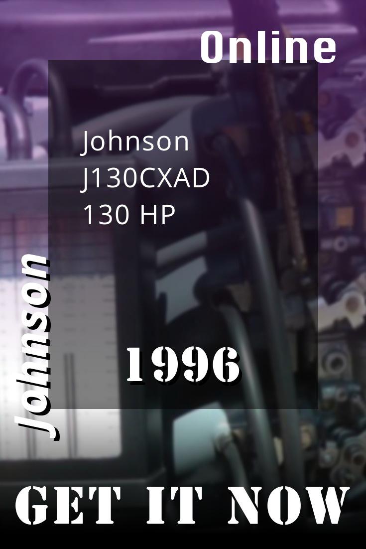 1996 J130cxad Johnson 130hp Outboard Motor Outboard Repair Manuals Diy Repair