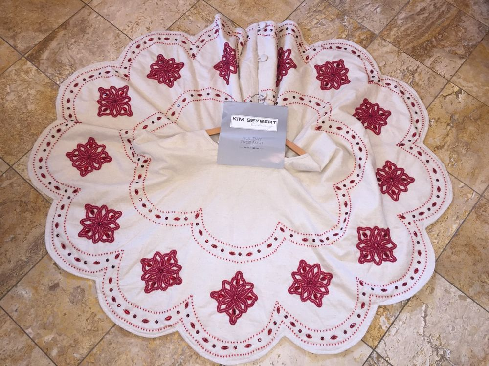 Details about NWT $595 Kim Seybert Neiman Marcus Embroidered Beaded