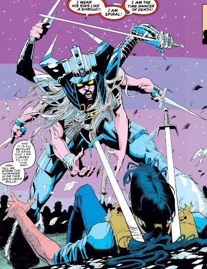 836f1e8abc4 spiral marvel character | Injustice League vs X-Men Villains ...