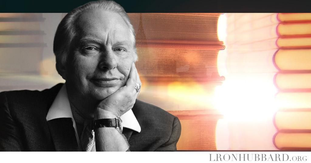 """L. RON HUBBARD 