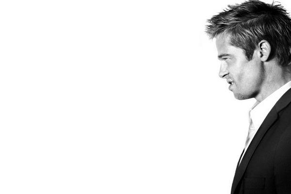 Brad Pitt by Nino Munoz